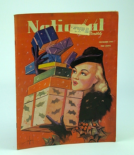 National Home Monthly Magazine, December (Dec.) 1940 - Hockey Despite Hitler / Britain's Island Fortress, Stewart, Dr. H.L.; Sanborn, R.; Bentley, E.; Parmenter, C.; Wheatley, D.; Harvey, R.; Hazen, P.; Fitz-Gerald, W.; Brown, J.; Bayne, E.