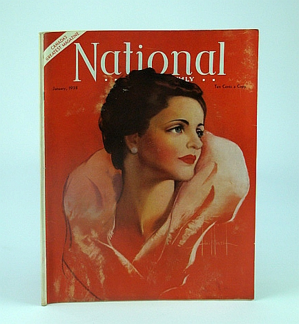 National Home Monthly Magazine, January (Jan.) 1938 - Vancouver's Junior G-Men / London's Famous Underground, Gribble, L.; Luther, M.; batten, H.; Christie, Agathat.; Watson, W.; Sapera, M.; Dickie, F.; Et al