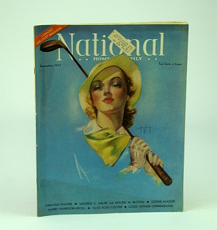 National Home Monthly Magazine, September (Sept.) 1937 - Josef Stalin / Judge Hawley S. Mott, Bloom, M & A.; Cunningham, L.; Kroll, H.; Lynde, F.; Colver; Ecker, M.; Knott, L.; Phayre, I.; Dingman, I.
