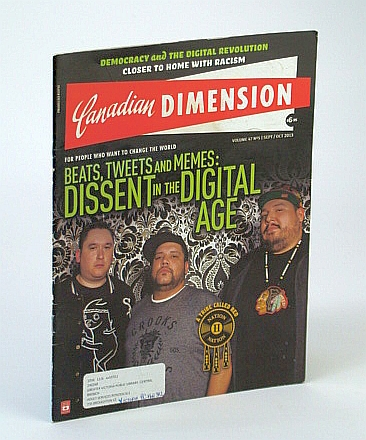 Image for Canadian Dimension Magazine, September / October 2013 - Nation II Nation Cover Photo
