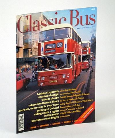 Classic Bus Magazine, August / September (Aug/Sept.) 2013, Multiple Contributors