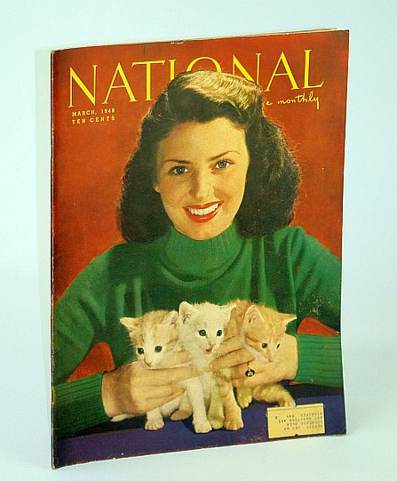 The National Home Monthly Magazine, March (Mar.) 1948 - The Boy Who Stopped Niagara / In Post-War Italy / London's Tower Bridge Tug, Stewart, H.L.; Cross, A.; Dixon, H.; Vickers, R.; Horn, H.; Jeffreys, G.; Mosley, L.; Et al