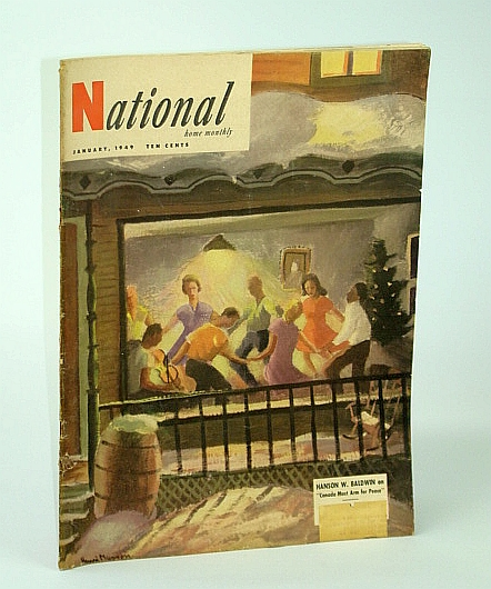 Image for The National Home Monthly Magazine, January (Jan.) 1949 - Christ Vs. Marx / Defense of Canada