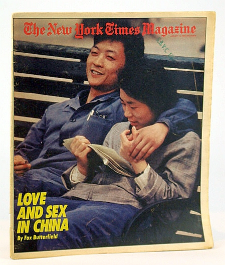 The New York Times Magazine, January (Jan.) 13, 1980 - Love and Sex in Asia, Safire, W.; Baker, Russell; Butterfield, Fox; Trustman, Deborah; Khan, M.Afzal; Fleming, Anne T.; Claiborne, C.; Et al