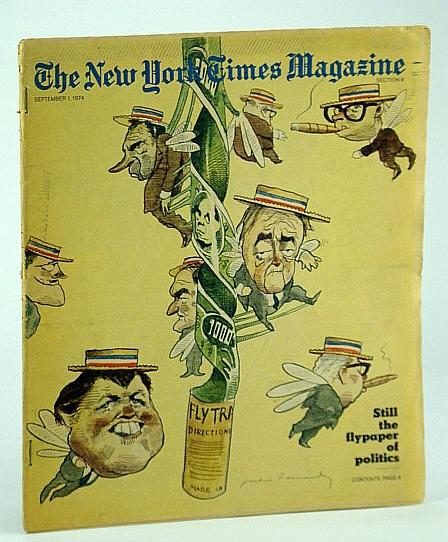 The New York Times Magazine, September (Sept.) 1, 1974 - Howard Cosell, Holden, David; Daley, Robert; Albright, Joseph P.; Crittenden, Ann; Ruby, Michael; et al