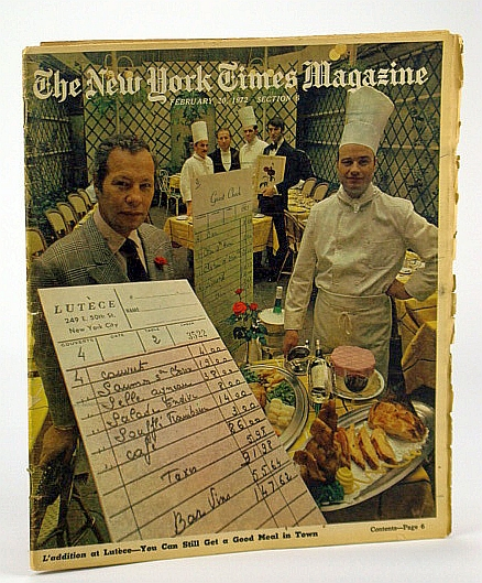 The New York Times Magazine, February (Feb.) 20, 1972 - The Battle of Forest Hills, Goodman, Walter; Bujarski, Pamela; Casella, Alexander; Chace, James; Schickel, Richard; Hechinger, G. And F.; Et al