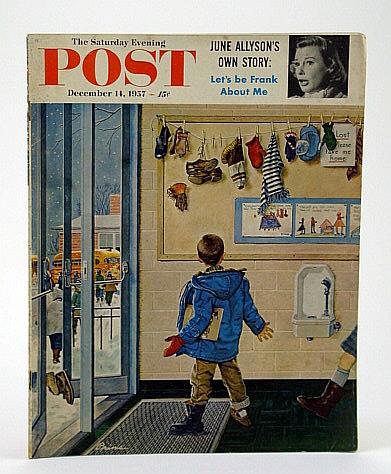 The Saturday Evening Post, December (Dec.) 14, 1957 -  The Nation's Last Shore Whaling Station, Rawlings, Charles; Connell, V.; Cloete, S.; Katkov, N.; Allyson, J.; McGuire, Frank; Alsop, S.; Thruelsen, R.; Tunley, R.; Noble, J.; Clark, N.; Kelland, C.; Lanham, E.