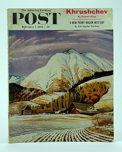 The Saturday Evening Post, February (Feb.) 1, 1958 -  Calvin Coolidge's Cuba Visit, Forrest, W.; Macken, W.; Katkov, N.; McNeil, S.; Smith, B. Jr.; Cope, M.; Alsop, S.; Martin, J.; Fox, S.; Ambros, M.; Davidson, G.