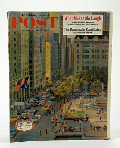 Image for The Saturday Evening Post, March (Mar.) 19, 1960 -  Comeback of a Shabby City - Philadelphia / Norman Rockwell