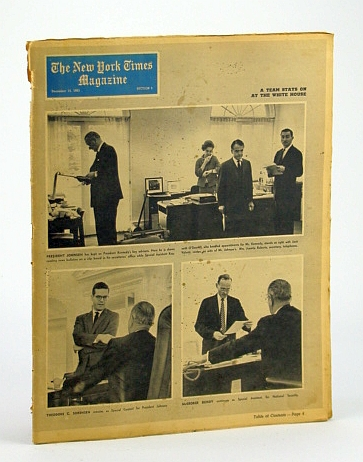 The New York Times Magazine, December 15, 1963 - When a Negro is on Trial in the South, Acheson, Dean; Hunter, Marjorie; Morris, Richard B.; Graubard, Stephen R.; Galphin, Bruce M.; Willig, John M.