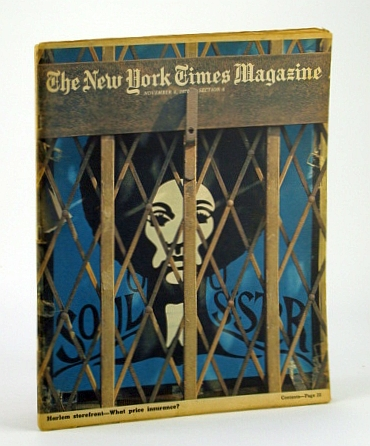The New York Times Magazine, November (Nov.) 8, 1970 -  Leroy Johnson, The Most Powerful Black Politician in Dixie, Benchley, Peter; Keniston, Kenneth; Lerner, Michael; Moraes, Dom; Hellman, Peter; Lesher, Stephan; Schiro, A.; Berman, A.; Cohen, L.; Hewitt, J.; Reif, R.