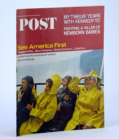 Image for The Saturday Evening Post, August (Aug.) 28, 1965 - The Killer That Stalks the Newborn