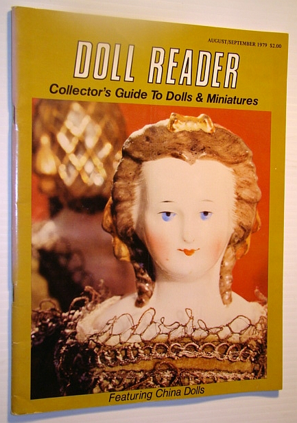 Image for Doll Reader Magazine  - Collector's Guide to Dolls & Miniature, August / September 1979 - China Dolls