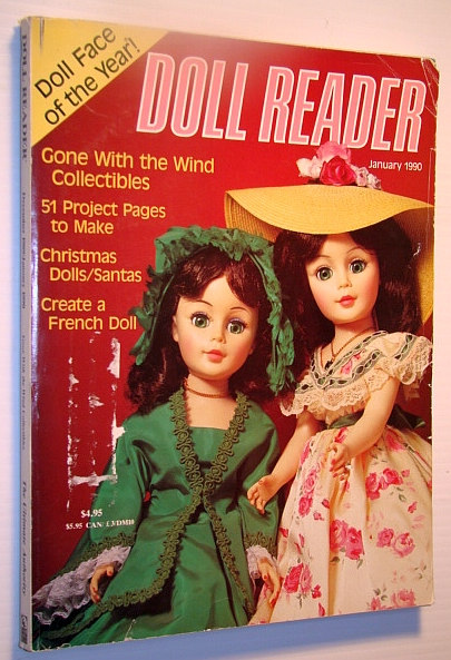 Doll Reader Magazine, January, 1990: Doll Face of the Year!, Bordeau, A.; Ryan, M; Bahar, A.; Tempest, J.; Lipinski, A.; Mathis, R.; Coleman, D & E.; Foulke, J.; Cook, C.; Et al