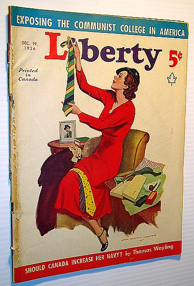 Image for Liberty Magazine (Canadian Edition) April 19, 1936 - Exposing the Communist College in America