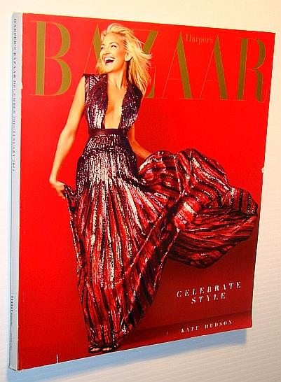 Harper's Bazaar Magazine, December 2013/January 2014 - Kate Hudson Cover, Multiple Contributors
