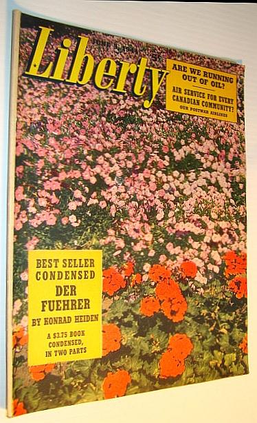 Liberty Magazine, June 3, 1944 - Russia's 15 Million Orphans / Development of the Bazooka in 30 Days, Pratt, W.E.; Gough, L.; Diehl, E.; Brown, H.W.; Palmer, G.; Hillman, G.M.; Winslow, T.; Lanham, E.; Heiden, Konrad