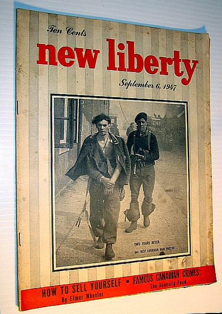 Image for New Liberty Magazine, September 6, 1947 - The Donnelly Feud / Elwood Hughes of the C.N.E.