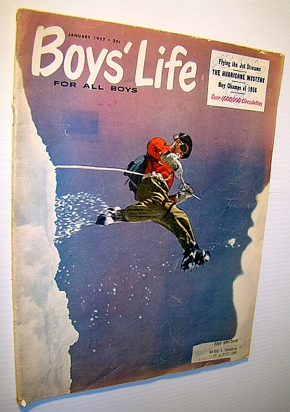 Image for Boys' Life - The Boy Scouts' Magazine, January 1957