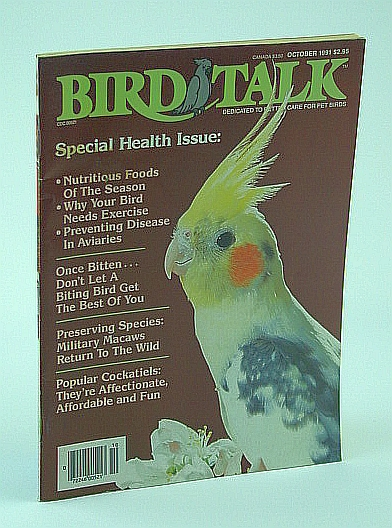 Image for Bird Talk Magazine, October 1991 - Special Health Issue