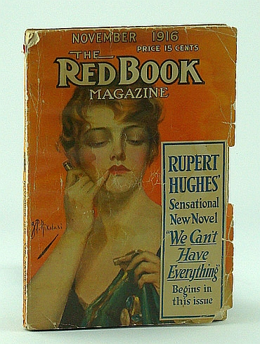 "Image for Red Book (Redbook) Magazine, November 1916, Vol. XXVIII, No. 1 - With 12 One-page Photo Plates of ""Beautifl Women of the Stage"""