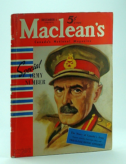 Image for Maclean's - Canada's National Magazine, December 1, 1941 - Special Army Number/E.J. Hughes Art