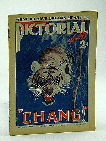 """Image for Pictorial Weekly Magazine, March 3, 1928, No. 1,500, Vol. CXVI: """"Chang!"""""""