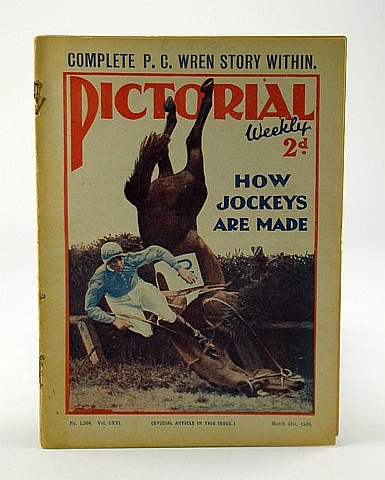 Image for Pictorial Weekly Magazine, March 31, 1928, No. 1,504, Vol. CXVI:  How Jockeys Are Made