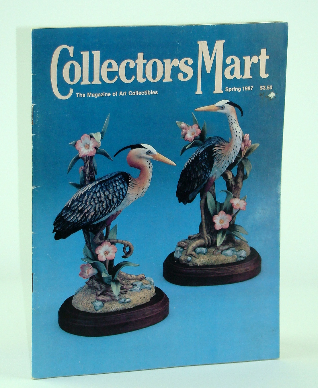 Collector's Mart - The Magazine of Art Collectibles, Spring 1987, Volume XI, No. 3 Spring 1987 - Sandra Kuck, Bailey, Patricia Black; Jones, Susan