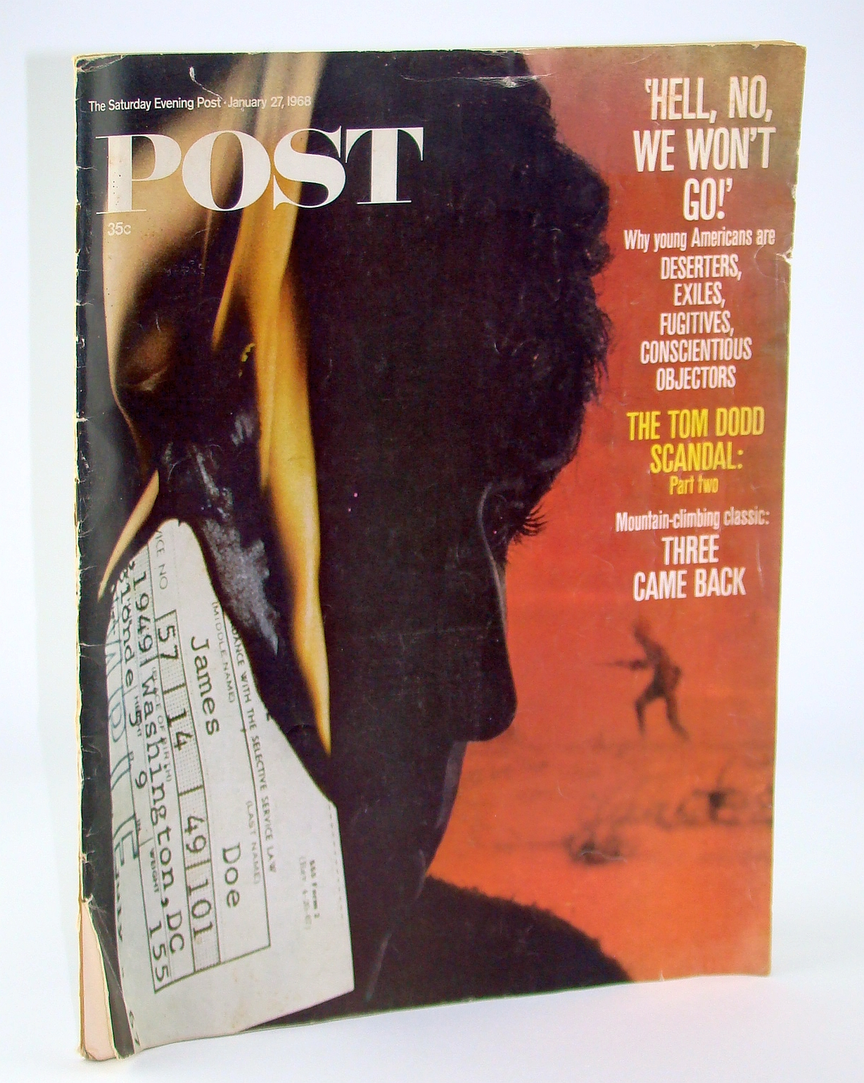 Image for The Saturday Evening Post, January 27, 1968 - Why Young Americans Are Deserting