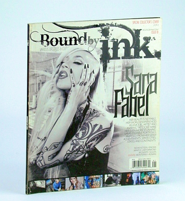 Image for Bound By Ink Magazine - Various Lifestyles & Cultures, Issue Ten (10), 2012 - Sara Fabel Cover Photo