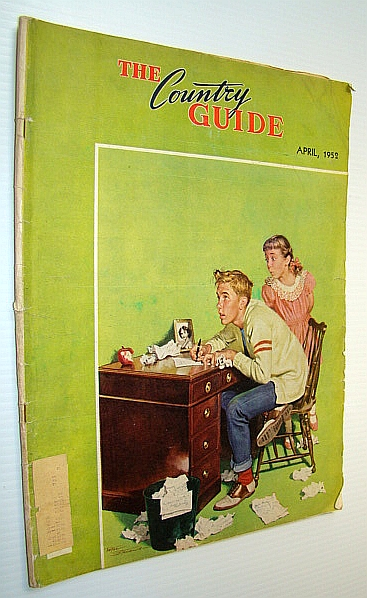 The Country Guide Magazine, April 1952 - Foot and Mouth Disease in Saskatchewan / The Ardills of Farrell Creek, B.C., Cross, A.F.; Shaw, C.L.; Abel, P.M.; Erdman, R.L.; Fry, H.S.; Barnard, L.G.; Haycox, E.; Kummer, F A.; Et al