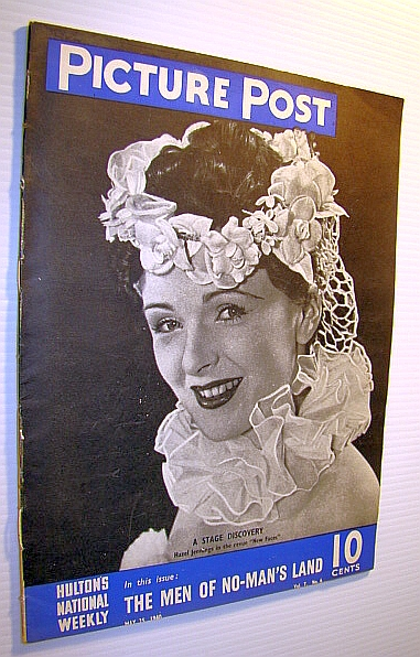 Image for Picture Post Magazine - Hulton's National Weekly, May 25, 1940 -  Hazel Jennings Cover Photo