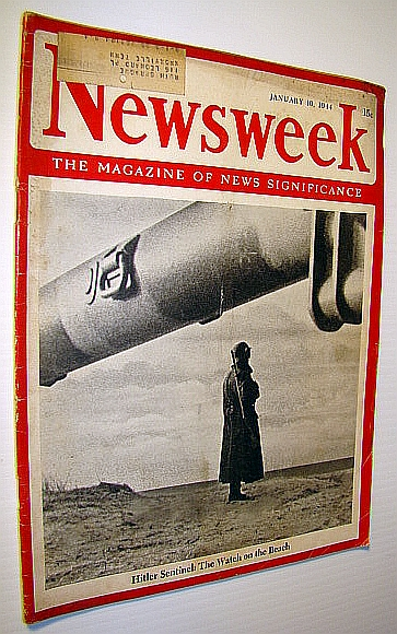 Newsweek - The Magazine of News Significance, January 10, 1944 - Allied Chiefs Confident This is Year of Victory, Pratt, Admiral William V.; Lindley, Ernest K.