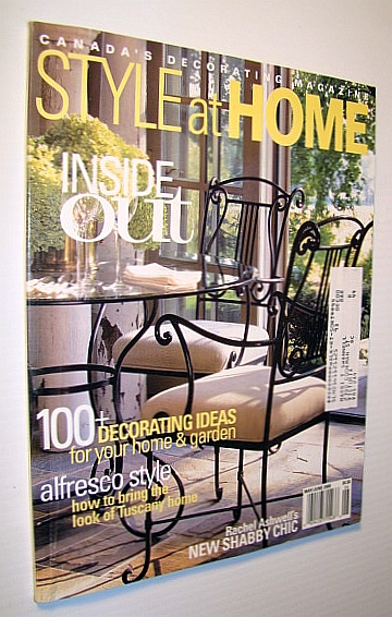 Image for Style at Home - Canada's Decorating Magazine, May / June 2000 - Inside Out