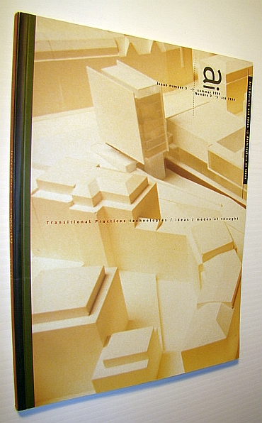 Image for Ai - Architecture and Ideas Magazine, Issue Number 3 (Three), Summer 1999