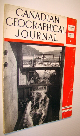 Image for Canadian Geographical Journal, November 1939 - Wild Rice in Canada
