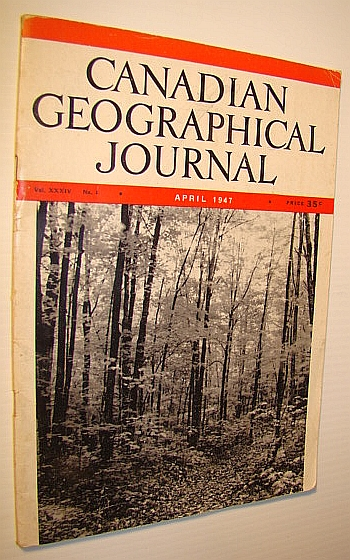 Image for Canadian Geographical Journal, April, 1947 - Paddlewheels on the St. John