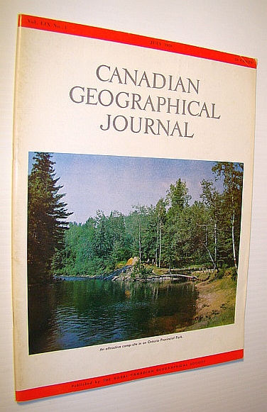 Canadian Geographical Journal, July 1959 - The British on San Juan Island, Campbell, G.G.; Jordon, Mabel E.; Paterson, John A.; Owens, W.H.