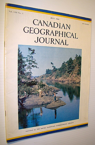 Image for Canadian Geographical Journal, July 1960 : Tobacco - Another Canadian Achievement