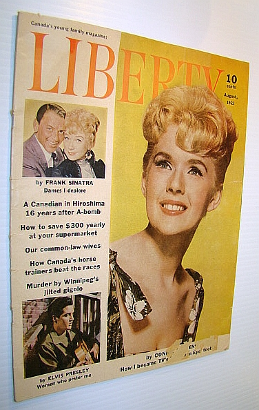 Image for Liberty - Canada's Young Family Magazine, August 1961 - Connie Stevens Cover Photo