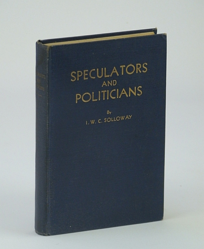 Image for Speculators and Politicians