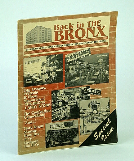 Image for Back in the Bronx - Celebrating the Experience of Growing Up and Living in the Bronx - Special Issue: Miss Diana Dors