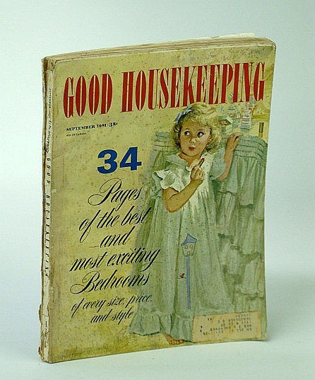 Good Housekeeping - The Magazine America Lives By, September (Sept.) 1951 - Plymouth, Massachusetts, Best & Hillyer; R. Harbert; E.A. Cadiz; J. Colton; B.J. Chute; R. Franken; E.G. Patterson; H. Pratt; E. Starr; et al