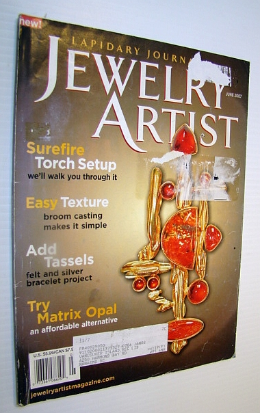 Image for Jewelry Artist (Lapidary Journal) Magazine, June 2007, Volume 61, No. 3