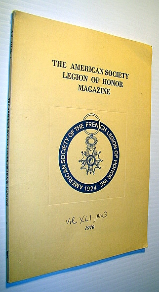Image for The American Society Legion of Honor Magazine, Volume XLI, Number 3, 1970