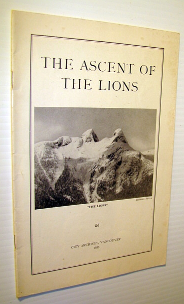 Image for The Ascent of the Lions: 5th September and Subsequent Days 1903
