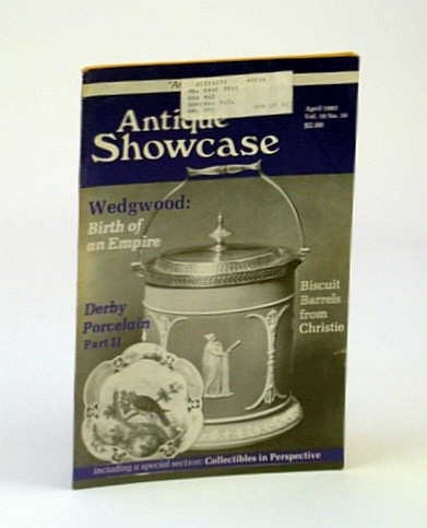 Image for Antique Showcase Magazine, April 1983 - Biscuit Barrels from Christie / J.P. Cockburn