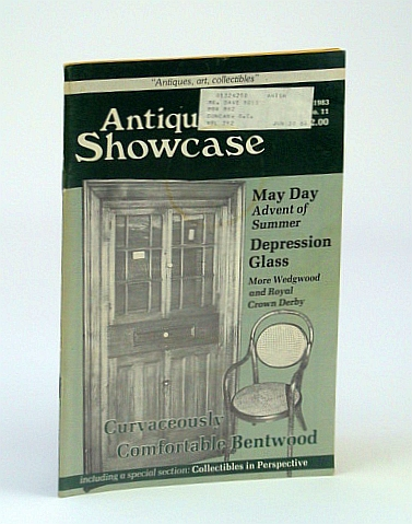 Image for Antique Showcase Magazine, May 1983 - Bentwood Furniture / Depression Glass Cookie Jars / Homer Watson