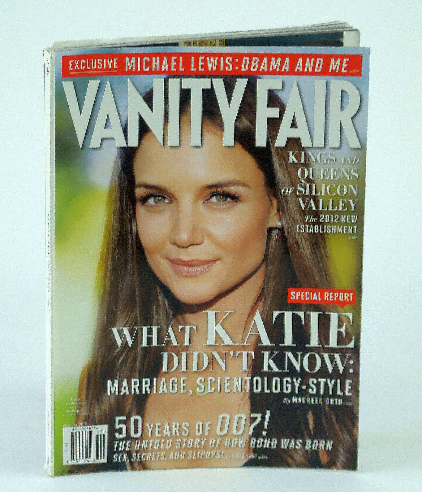 Image for Vanity Fair Magazine, October 2012, No. 626 - Katie Holmes Cover Photo